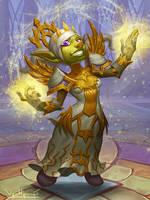 Goblin Priest by VanHarmontt