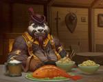 Pandaren in Tavern