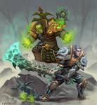 Warlock and Death knight
