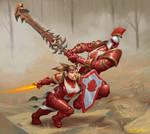 Scarlet crusaders
