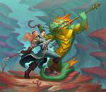 Monster Hunter Vs Naga