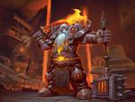 Dark Iron Dwarf Warrior