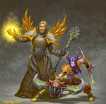 Priest and demon hunter