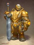 Bear Paladin armored