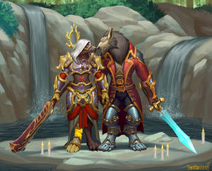 Worgen couple