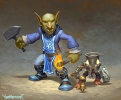 Goblin and Murloc
