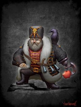 Black Pirate, male