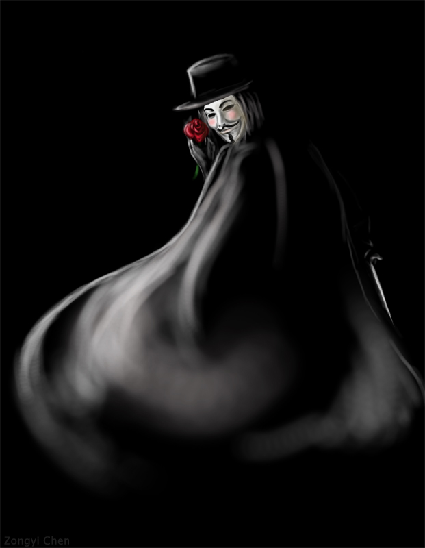 V for Vendetta by serpentdoness on DeviantArt