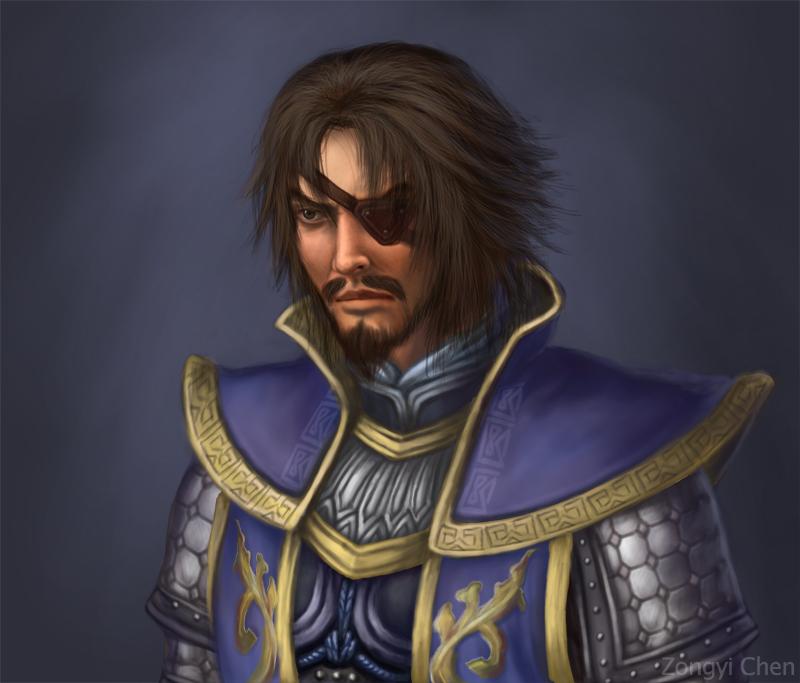 General Xiahou Dun by serpentdoness