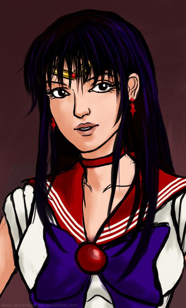 Sailor Mars by serpentdoness