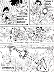 Request: Superman vs. Son Goku