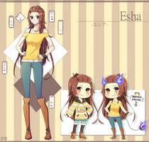 [REF] Esha~! by NoneMatsu