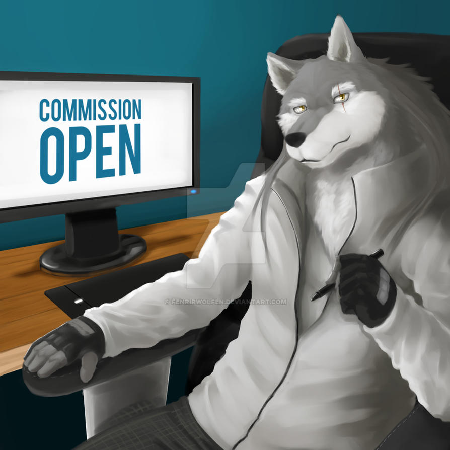 Commission is open [10 Slots] by Fenrirwolfen