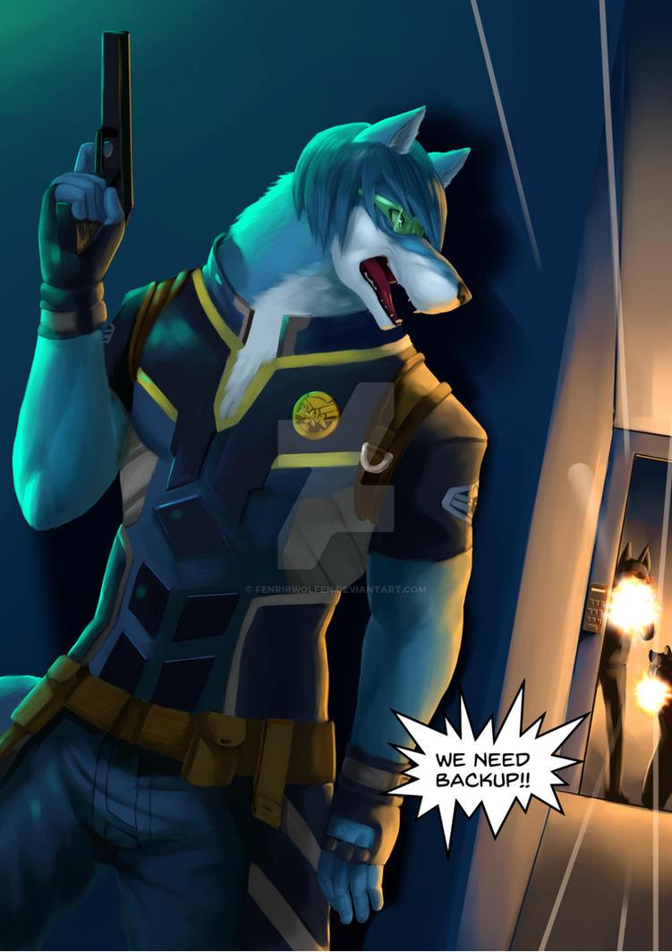 We need backup!! by Fenrirwolfen