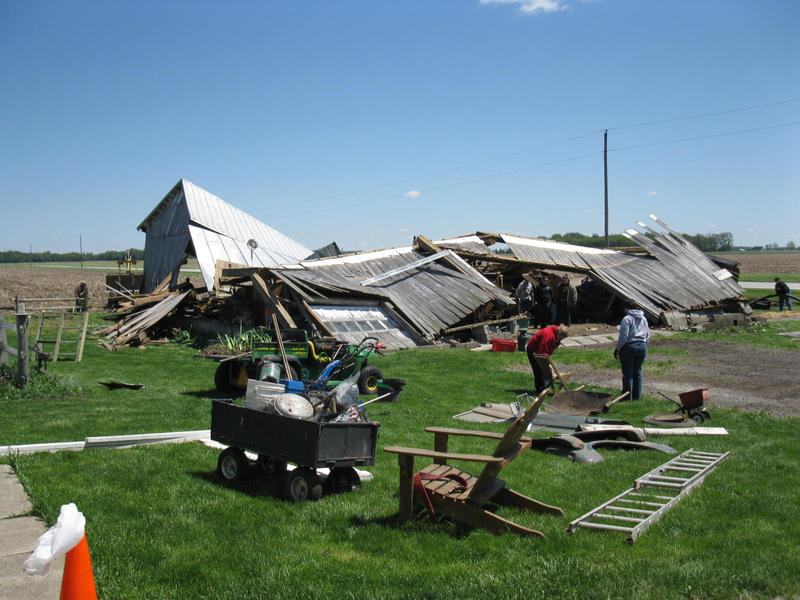 The barn that blew down by Rennon-the-Shaved