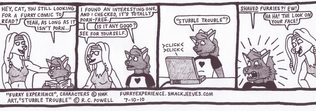 Furry Experience fan comic by Rennon-the-Shaved