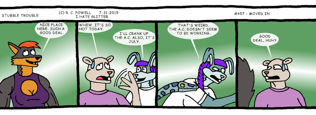 Stubble Trouble - 457 by Rennon-the-Shaved