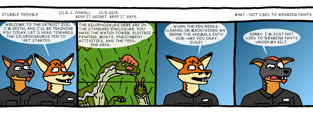 Stubble Trouble - 467 by Rennon-the-Shaved