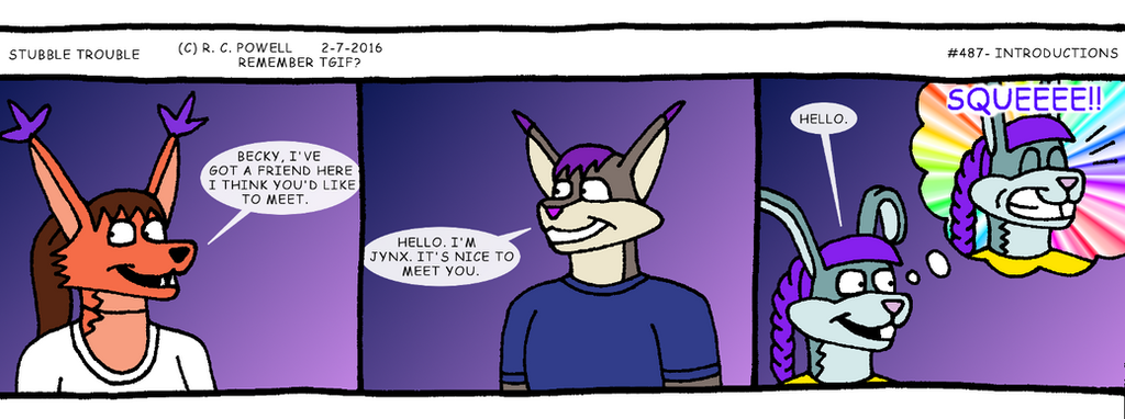 Stubble Trouble - 487 by Rennon-the-Shaved