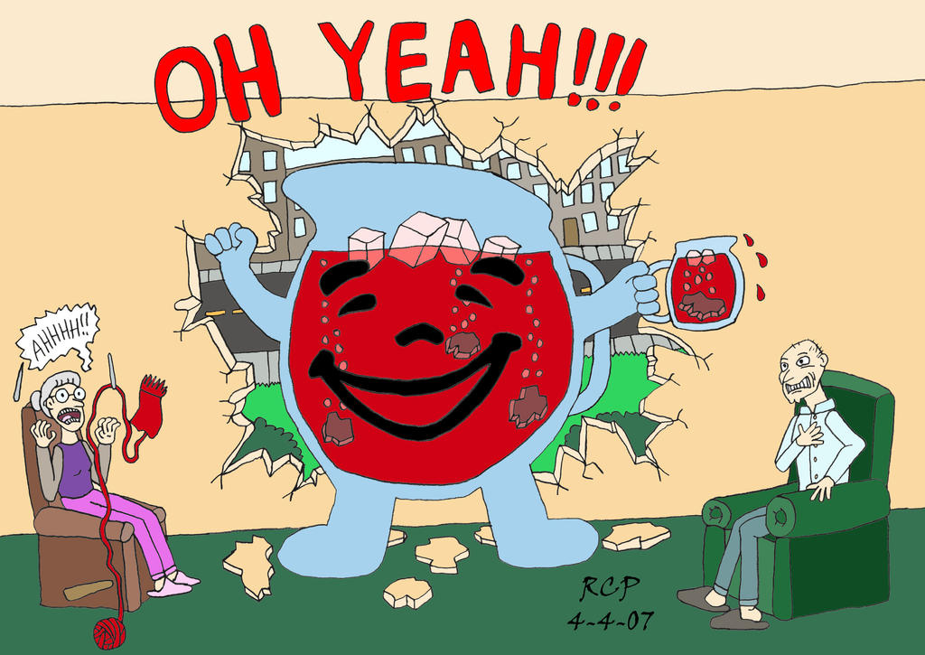 Kool Aid Man - Colored by Rennon-the-Shaved on DeviantArt