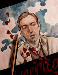Kevin Spacey - American beauty , detail