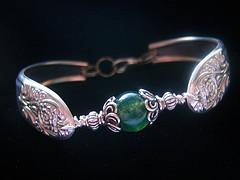 Vintage Spoon Bracelet by FireChickTick