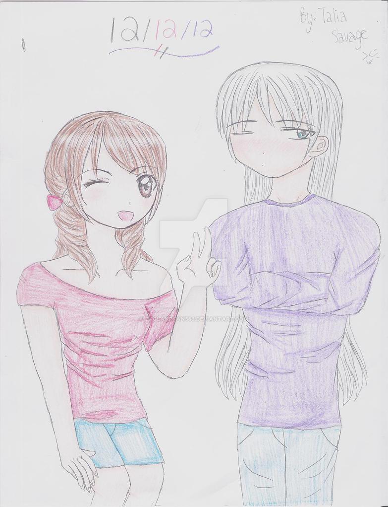 Me and ukitake by Englandfan563