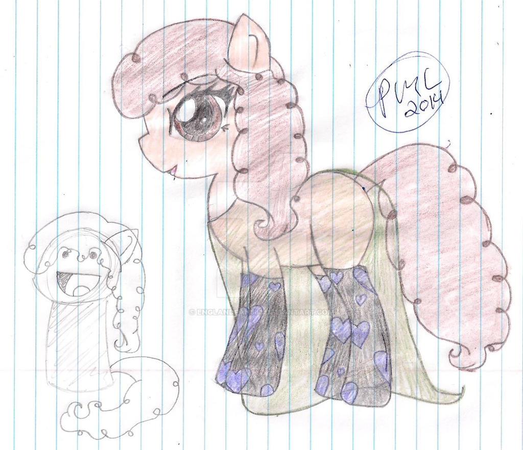MySelf as a pony by Englandfan563
