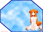 World of clouds and fox