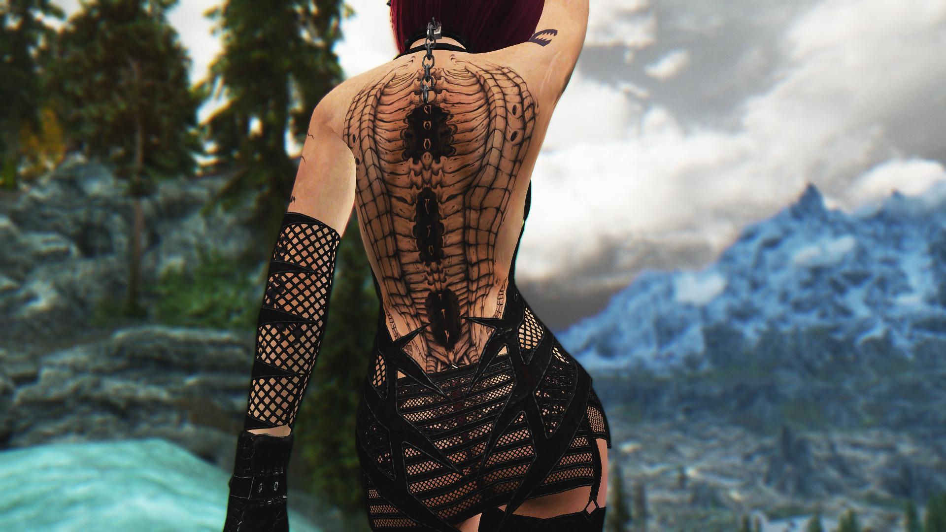 Skyrim tattoo mod