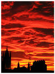 Red sky at night....
