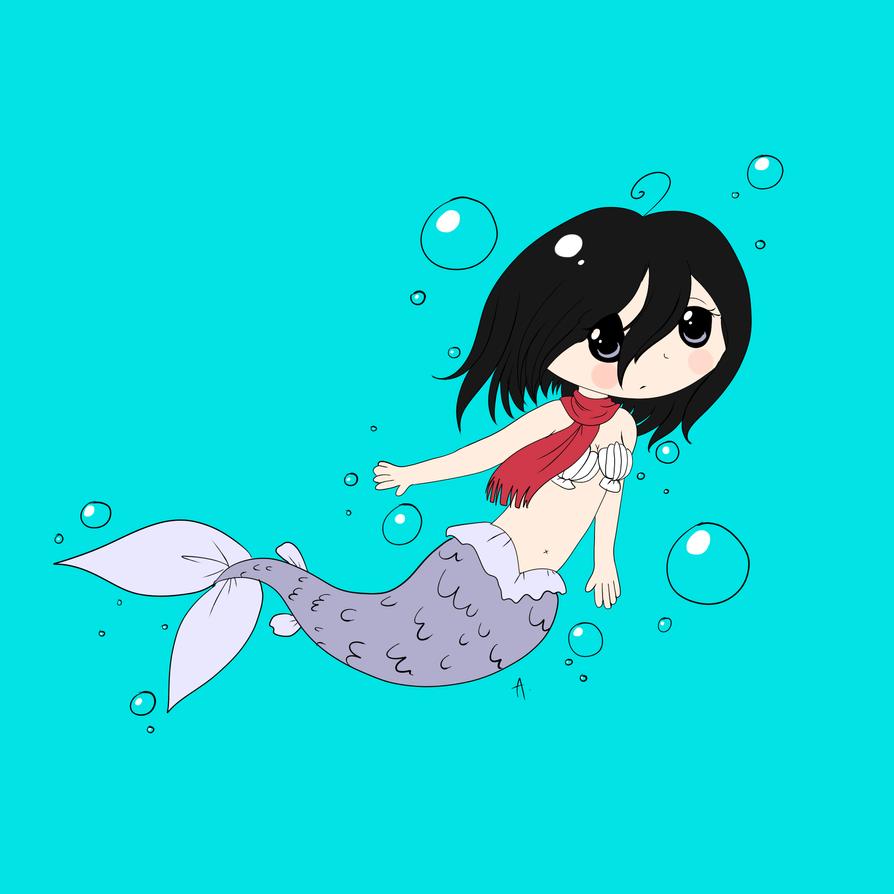 mer!Mikasa by Tokito-sempai