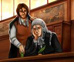 Kyouraku + Ukitake: Judges