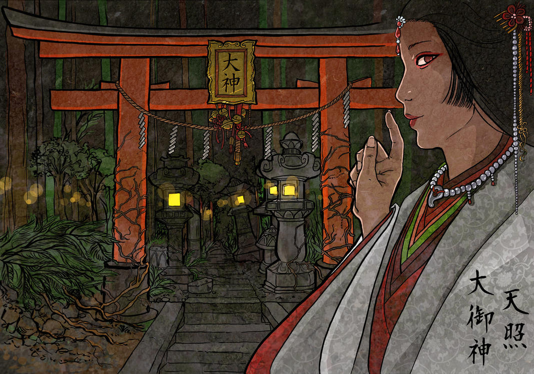 Amaterasu Omikami by Liliana-Claire