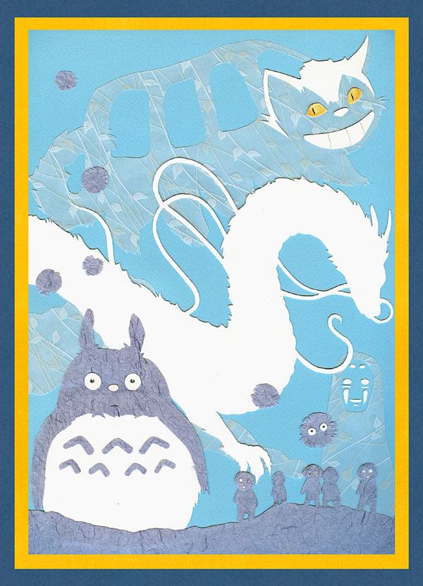 Miyazaki magic by Liliana-Claire
