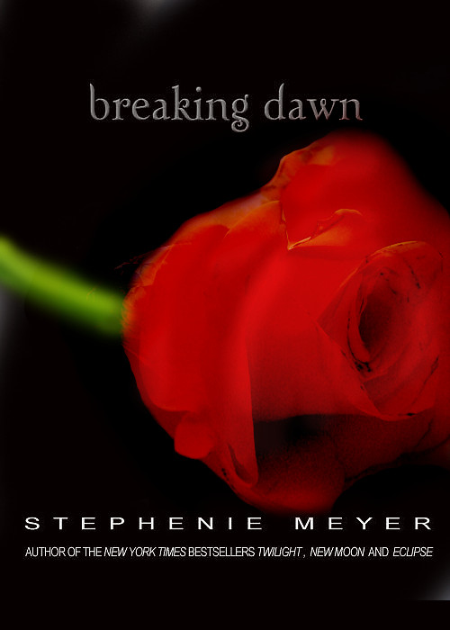 Breaking Dawn Book Cover Drawing : Breaking dawn cover by mienelovezlove on deviantart