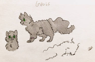Grass Reference Sheet - Tainted Silver by LetterU