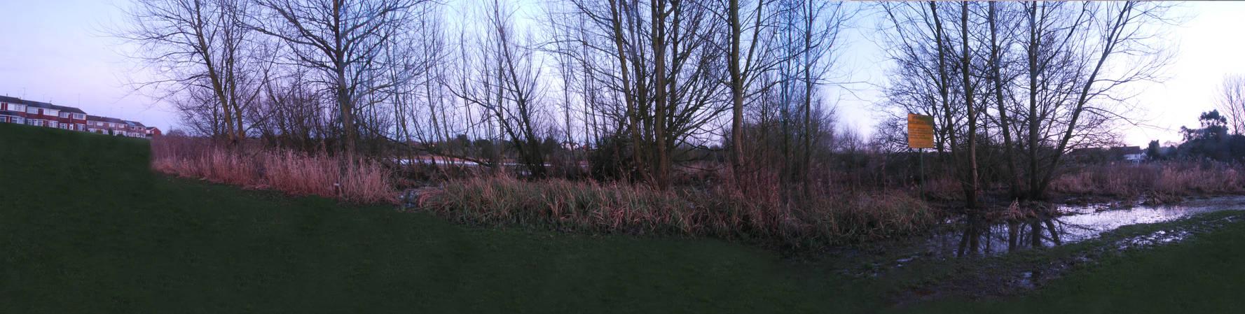 WAITING FOR THE SUNSET, Stoke Floods, WestMidlands