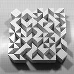 Permutation 003 the rhombus by monochromeandminimal