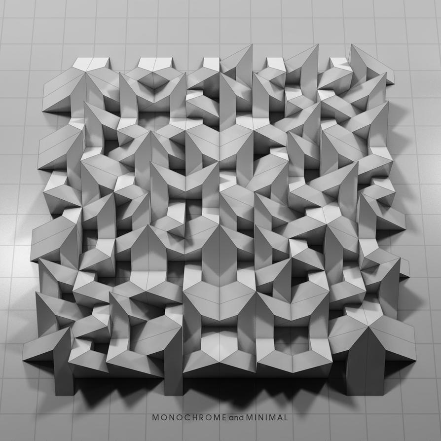 Permutation 012 by monochromeandminimal on deviantart for Minimal art kunst
