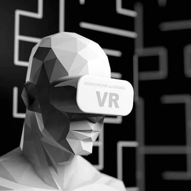 Permutation V3 Animation in VR by monochromeandminimal