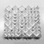 Visualization of Permutation 027 by monochromeandminimal