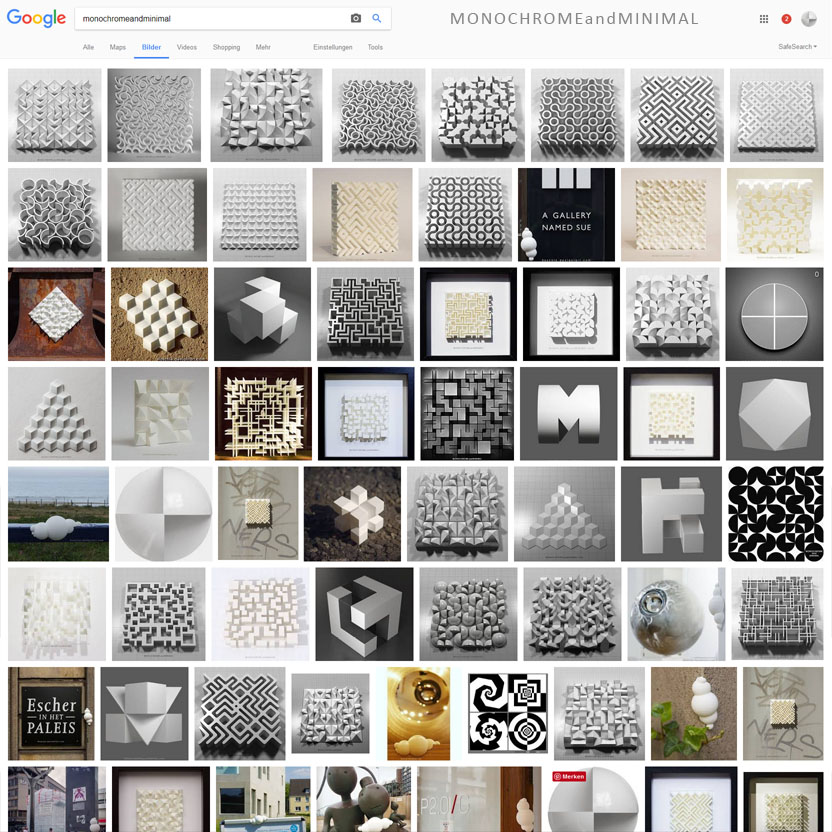 Google is my gallery by monochromeandminimal