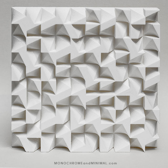 Photo of Permutation 039 sculpture by monochromeandminimal