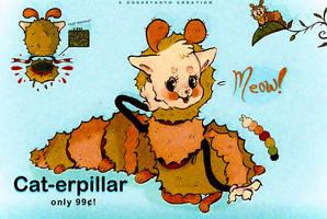 cat-erpillar (99c not actual price) by goosetooth