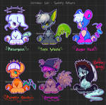 Halloween Adopts [open] auction by goosetooth