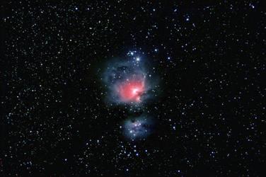 M42 - Orion Nebula Widefield by astrnmr
