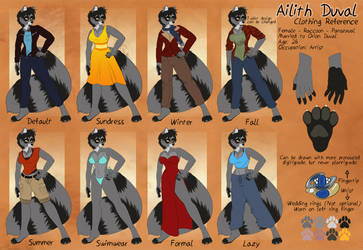 [p] Ailith Clothing Ref Updated by TheRecurrent