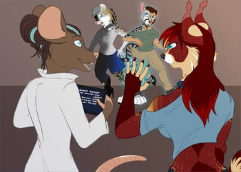 [t] Meeting of Science and Magic by TheRecurrent