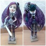 Fairy warrior: Raven Queen by Danyd10